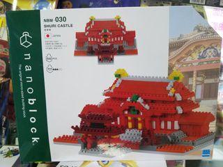 全新原裝行貨 nanoblock NBM 030 shuri castle 首里城