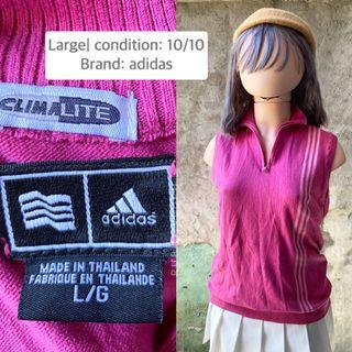 Adidas sleeveless top