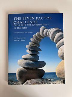 ADMS 1000 - The Seven Factor Challenge