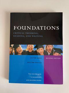 ADMS 1340 - Foundations: Critical Thinking, Reading, and Writing