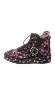 Authentic Coach x Tabitha Simmons Floral Boots