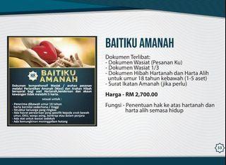 BAITIKU AMANAH - HIBAH TERLARIS