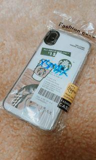 Casing Iphone XS max silicone starbucks