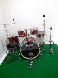 Drum set premier xpk maple 5 pcs