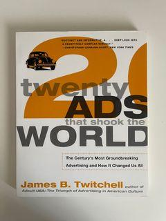 HUMA 1900 - Twenty Ads That Shook the World