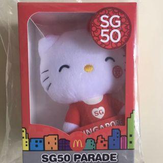 [INSTOCK] SG50 McDonald's Hello SG50 Hello Kitty Plush