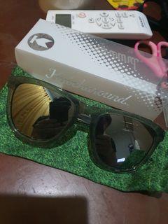 KnockAround Clear Moonshine Premiums Sunglasses