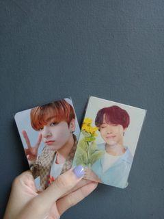 Mini Photocard Jk& J-hope (bundle)