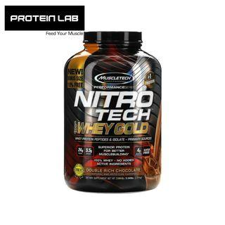 MUSCLETECH Nitrotech 100% Whey Gold 5.5lbs