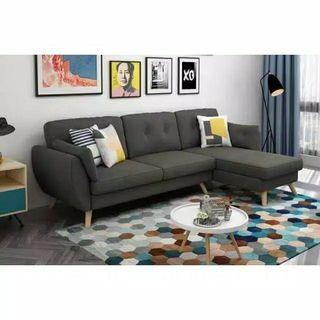 Sofa L santai Retro