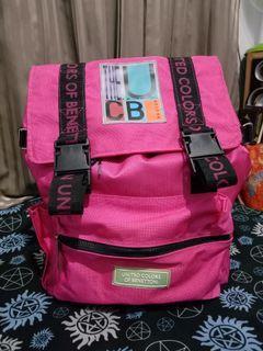 UCB Backpack Benetton