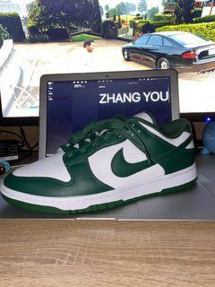 (Us10.5)Nike Dunk Low Spartan Green / Michigan State