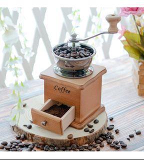 Wooden Manual coffee grinder