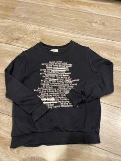 男童 Zara boy 140cm 黑色長袖