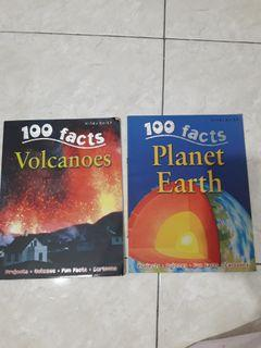 100 Facts: Volcanoes, Planet Earth by Miles Kelly