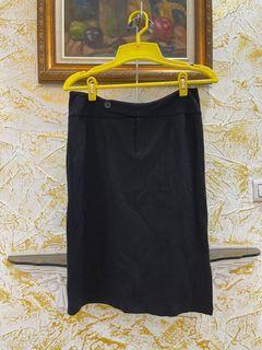 黑色西裝五分裙(二手)