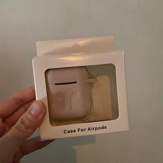 全新/Airpods淡粉矽膠保護套💓