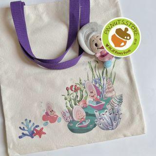 Alice 生蠔bb 帆布袋 環保袋 一個 包平郵