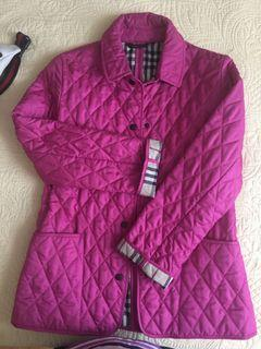 Authentic Burberry London Quilted Nova Check