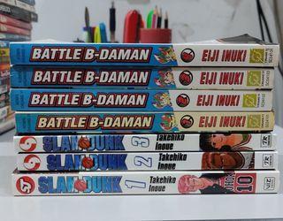 B-Daman & Slam Dunk Manga