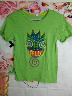 Green tshirt for kids