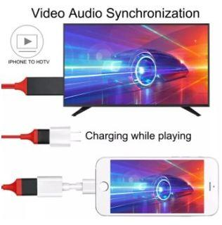 HDMI Cable for TV Projector Monitor Mirascreen TV Stick Compatible with lightning Micro usb Type-C 1080p HDTV Connector