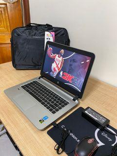 HP SSD 240GB+500GB 4th Gen Gaming laptop