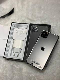 iPhone 11 Promax 512GB Bekas Mulus Murah Space Grey minus True tune