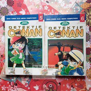 Komik Detektif Conan Vol.5 dan 6 by Aoyama Gosho