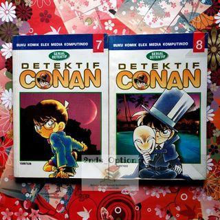 Komik Detektif Conan Vol.7 dan 8 by Aoyama Gosho
