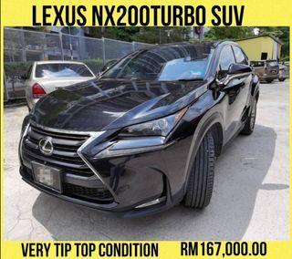 LEXUS NX200T SUV TIP TOP CONDITION