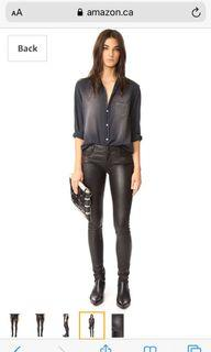 Mackage leather pants size 4