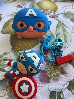 Marvel Captain America AirPods Pro Case (Brand New)