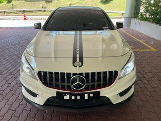 Mercedes CLA45 For Rent