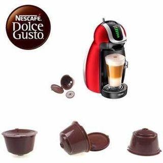 2pc Refillable Coffee Capsule for Nescafe Dolce Gusto