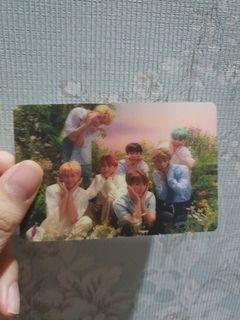 Special photocard her lenticular bts spc her