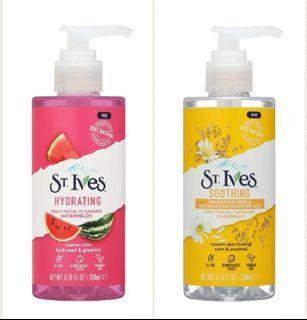 ST. IVES FACIAL CLEANSER  - HYDRATING WATERMELON / SOOTHING CHAMOMILE