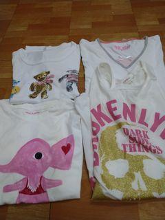 白色短袖T恤(買一送一)