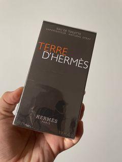 TERRE D'HERMÈS HERMES PARIS EAU DE TOILETTE PERFUME MEN 100ML