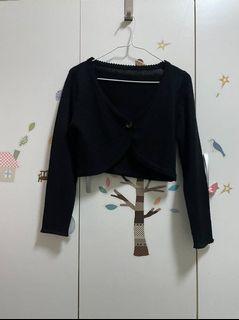 媽媽衣櫃裡的秘密*黑色罩衫