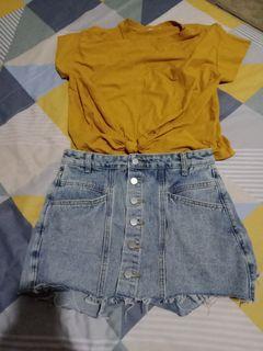 牛仔裙短褲