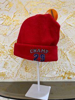 (新)秋冬男女寶寶通用的時尚紅帽