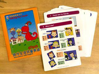 時代生活兒童美語語音測驗卡片