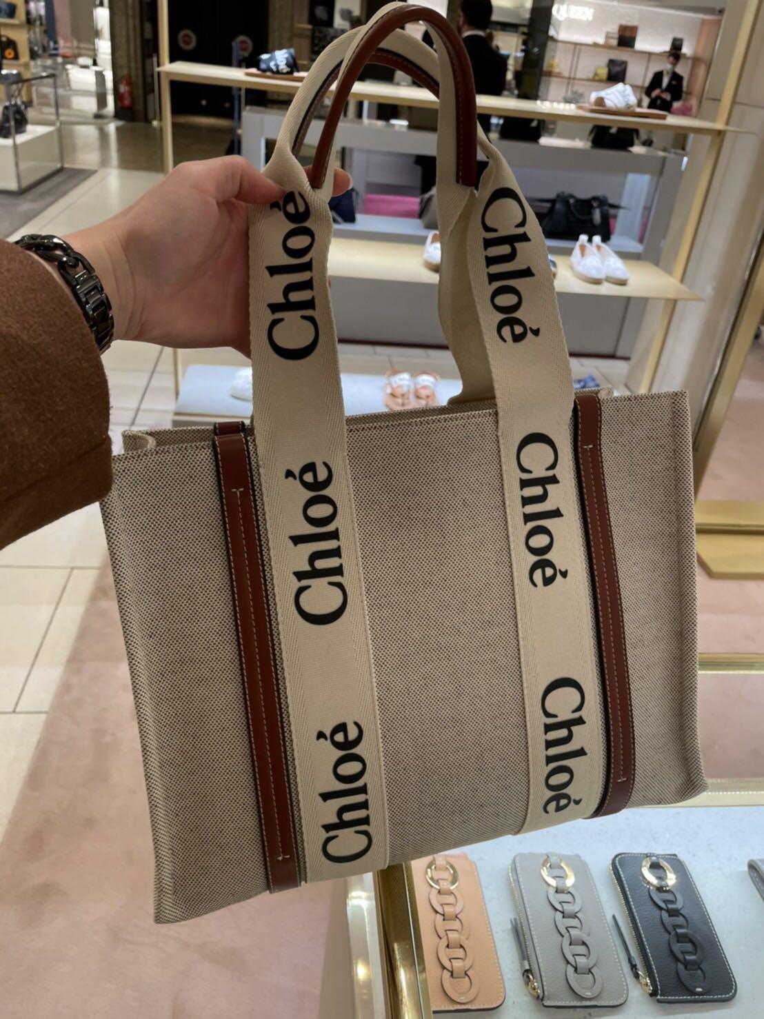 代購  Chloe Woody托特包  中款 (預購商品)