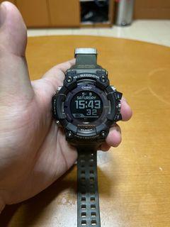 Casio G-Shock GPR-B1000 Rangeman GPS Tough Solar Green Strap no Box