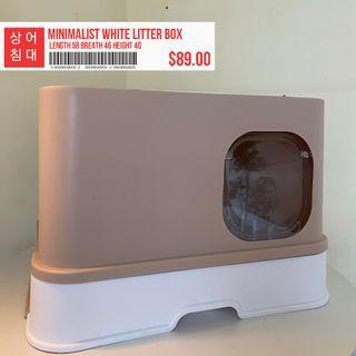 [CLEARANCE] Cat Litter Box Large Enclosed