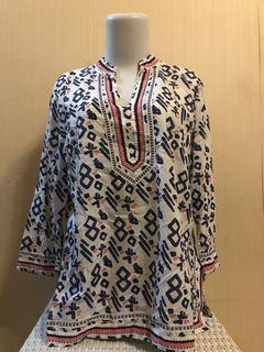 Ethnic Blouse Charter Club