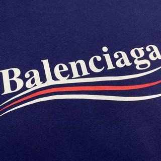 INSTOCK Balenciaga 21SS Campaign Blue Tee