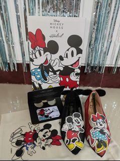 ITTAHERL x Disney Mickey Mouse LIMITED RARE mickey mix minnie Sandra Dewi