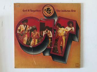 Jackson 5 - Get it together LP vinyl piring hitam
